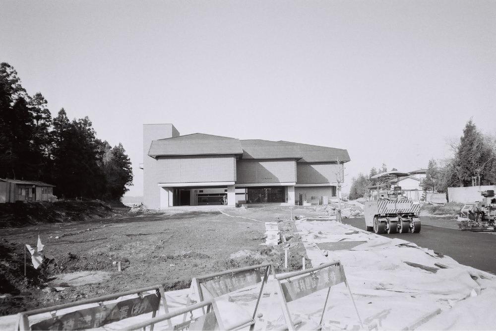建設中の博物館