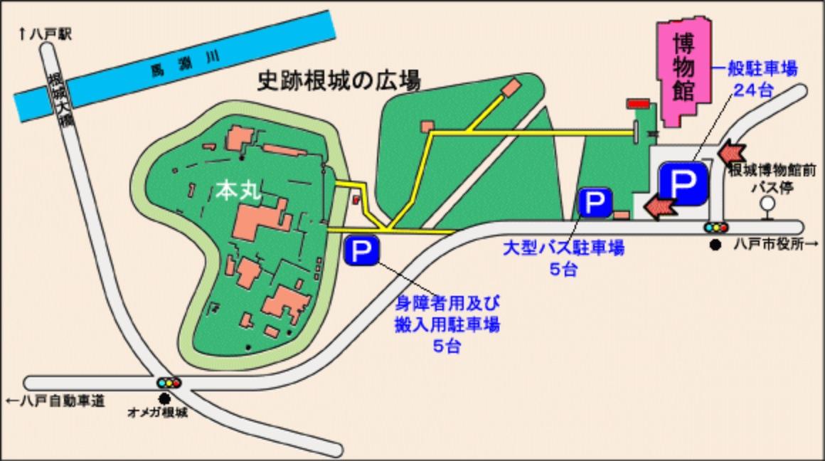 駐車場案内図