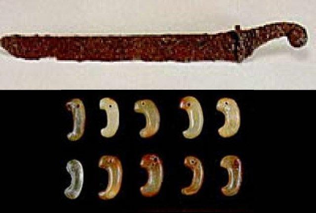 刀の飾り金具1