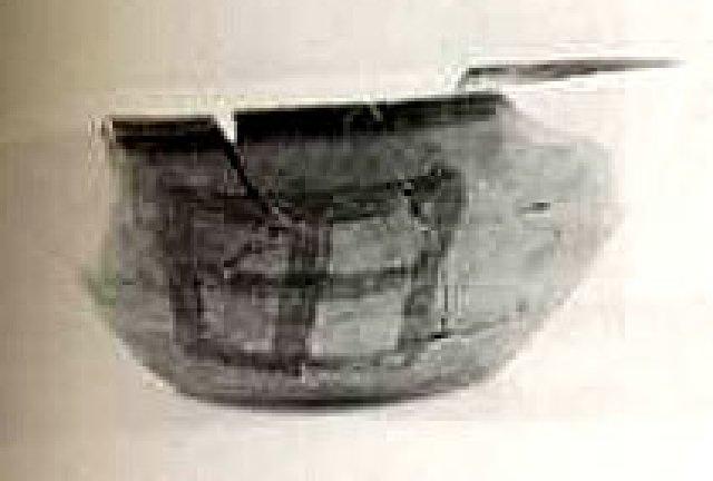 漢字「田」がついている土器