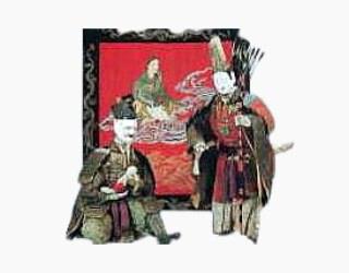 江戸時代の山車(だし)人形